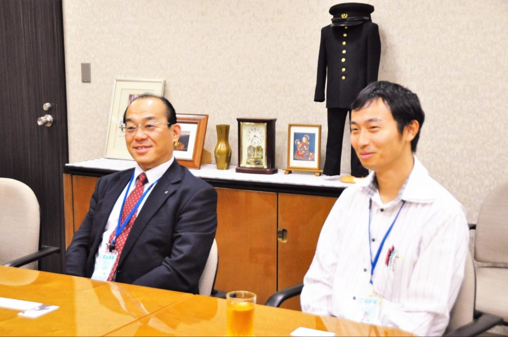 大阪明星学学園 明星中学校・明星高等学校 校長 松田進先生、担任 今村先生