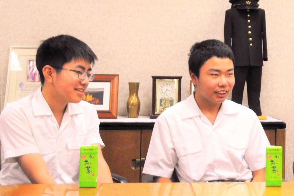 ライバルチーム:湯川くん、嶋倉くん