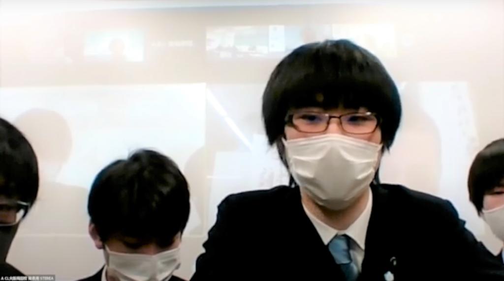専修学校クラーク高等学院大阪梅田校 チーム名「STEREA」作品タイトル「RE-PRO」